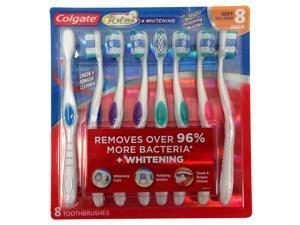 Colgate Total Whitening Toothbrush - Soft - 8 pk.