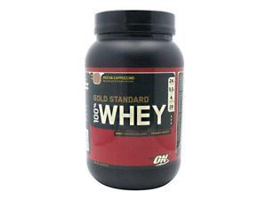 Optimum Nutrition Gold Standard 100% Whey - Mocha Cappuccino, 2 lb (912 g)