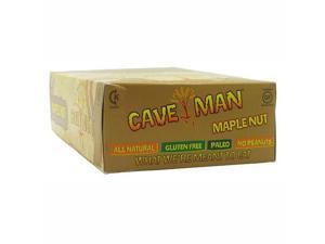 Caveman Foods Caveman Bar Maple Nut - 15 Bars