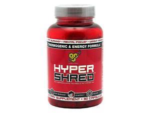Hyper Shred, 90 Capsules, From BSN