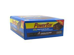Powerbar Protein Plus Chocolate Crisp - 15 bars - 61 g (2.15 oz) each