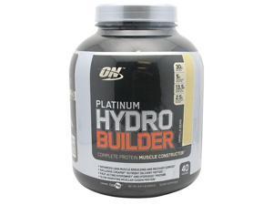 Platinum Hydrobuilder, Vanilla Bean, 4.59 lbs, From Optimum Nutrition