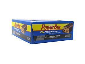Powerbar Protein Plus Cookies N Cream - 15 bars - 61 g (2.15 oz) each