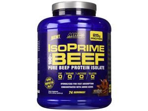 MHP Isoprime 100% Beef Protein Isolate Powder, Chocolate, 4.58 Pound