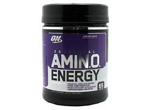 Optimum Nutrition Amino Energy - Grape, 65 servings