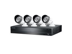 Samsung 4 Channel HD Security w/ 1TB HD, 4-720P Bullet Cameras, & Night Vision