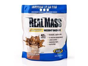 Gaspari Nutrition Real Mass Chocolate Ice Cream - 12Lb Bag