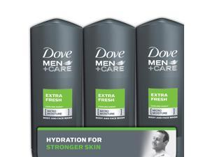 Dove Men+Care Body and Face Wash, Extra Fresh (18 oz., 3 pk.)