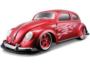 Maisto 1:10 Lqd Red '51 Volkswagen Beetle NiCD RC Car