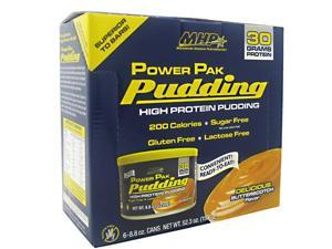 MHP Power Pak Pudding Butterscotch - 6-8.8 oz Cans [52.8 oz (1500g)]