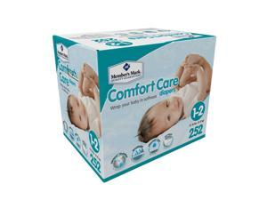 Member's Mark Comfort Care Baby Diapers (Size 1/2, 252 ct.)