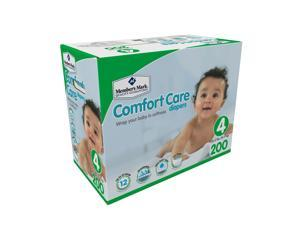 Member's Mark Comfort Care Baby Diapers (Size 4, 200 ct.)
