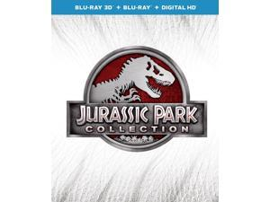 Jurassic Park Collection: Jurassic Park 1/2/3 / Jurassic World [Blu-ray]