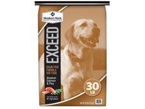 Member's Mark Exceed Dog Food, Salmon & Peas (30 lbs.)