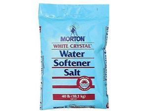 Morton Solar Salt Water Softening Crystals, 40-Pound