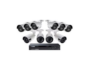 Lorex 16 Channel 1080p Surveillance System, 6 HD Cameras, 4 HD Ultra-wide Camera