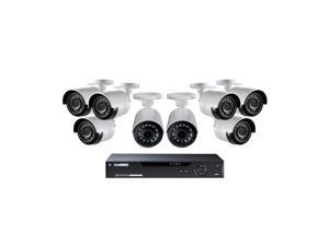 Lorex 8 Channel 1080p Surveillance System, 6 HD Cameras, 2 HD Ultra-wide Cameras