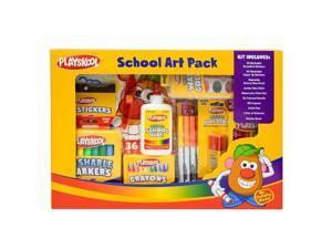 Playskool School Art Pack, 112 Piece Set