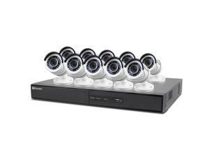 Swann 16-CH DVR Surveillance System, 10 1080p Cameras, 2TB HD, 100' Night Vision