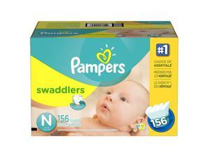 Pampers Swaddlers Diapers Newborn 156 Count