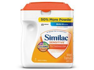 Similac Sensitive Infant Formula Powder - 34 oz.