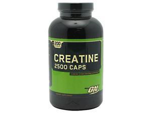 Optimum Nutrition Creatine 2500 Caps, 200 Capsules