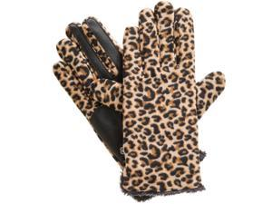 Women's isotoner Stretch Fleece Gloves with smarTouch Technology, Leopard