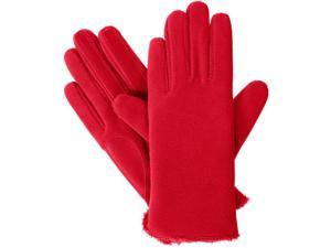 Women's isotoner Stretch Fleece Gloves with smarTouch Technology, Red