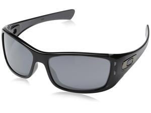 Oakley Men's Hijinx Polarized Sunglasses, Matte Black Frame/Grey Lens