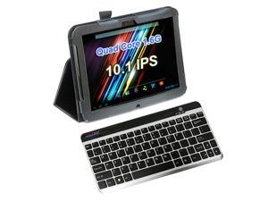 "vitalASC ST1011 All-in-One 10.1"" Android Tablet PC + Leather Case/Stand + Bluetooth Keyboard"