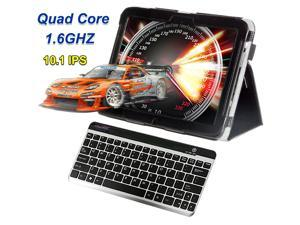 "vitalASC 10.1""IPS Quad Core 1.6Ghz 32GB Flash Cameras Tablet PC Android 4.2 w/Portable Bluetooth Keyboard bundle"