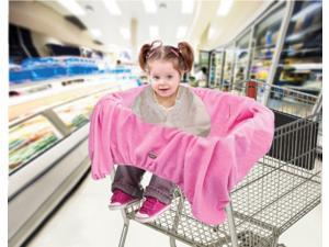 Jeep 2 in 1 Shopping Cart & High Chair Cover Pink