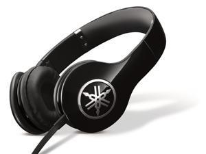 Yamaha PRO 300 High-Fidelity On-Ear Headphones (Piano Black)