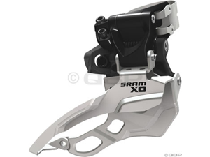 SRAM X0 2 x 10 31.8mm High Clamp Dual Pull Front Derailleur