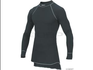 Craft Active Long Sleeve Crew Top: Black&#59; XL