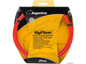 Jagwire Mountain Pro Disc Hose Red 3000mm Requires Jagwire Mountain Pro