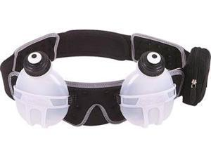 FuelBelt Revenge 2-Bottle Hydration Belt: Black LG