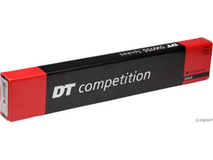 DT Swiss Competition Straight-Pull 262mm Black Spokes 2.0/1.8