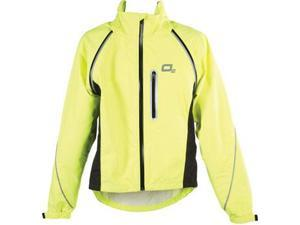 O2 Nokomis Rain Jacket: Yellow~ XL