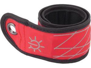 Nite Ize SlapLit LED Bracelet with Wavy Grid: Red LED