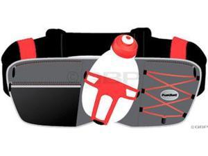 FuelBelt Revenge R10 1-Bottle Hydration Belt: Red One Size