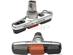 Koolstop Cross Threaded with Dura 2 Dual Compound Brake Pad