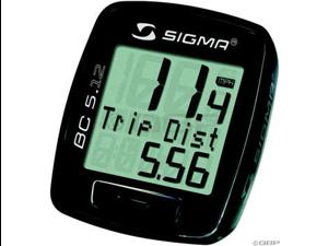 Sigma BC 5.12 Cycling Computer: Black