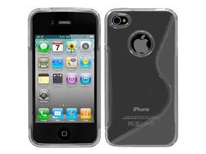Apple iPhone 4 & 4S Clear S Flexi Case