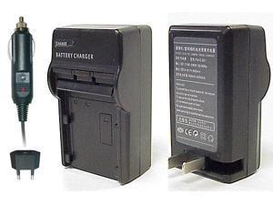 CS Power EN-EL15 Compact AC & DC Battery Charger For Nikon D7000, D600, D800, D800E DSLR and Nikon 1 V1 Digital Camera