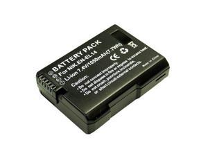 Nikon EN-EL14 High Power Replacement Li-ion Battery by CS Power