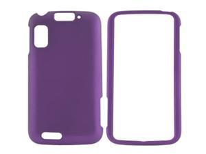Motorola Atrix 4G MB860 Rubberized Purple Snap-On Cover