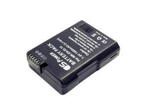 Nikon EN-EL14 Extended Power Replacement Li-ion Battery 1400 mAh by CS Power