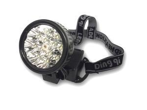 12 LED Headlamp with Laser Pointer - Blister Pack