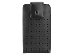 Cellet Teramo Premium Leather Case W/Fixed Heavy Duty 360 Swivel Clip for Large Smart Phone